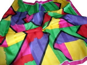 Other Brilliant Geometric design Poly Scarf