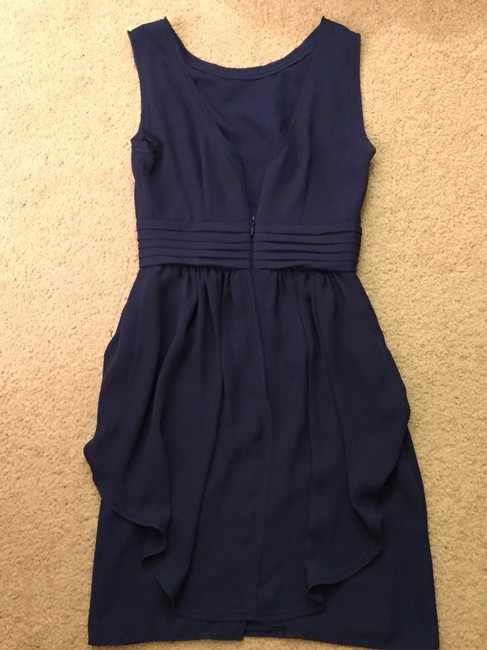 BCBGMAXAZRIA V Neck Classic Dress