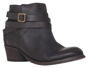 H by Hudson Casual Cute Leather Rag And Bone Black Boots