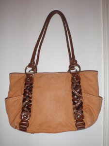Giani Bernini Purse Tote in Orange