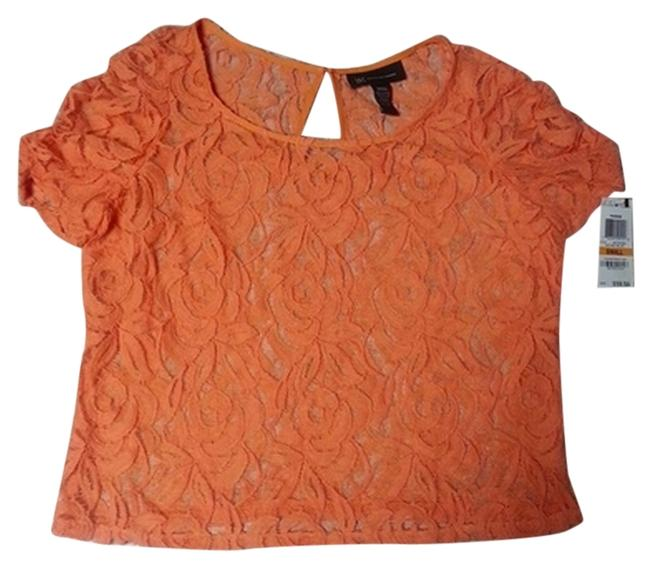Preload https://item4.tradesy.com/images/inc-international-concepts-lace-top-apricot-1251878-0-0.jpg?width=400&height=650