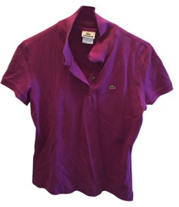 Lacoste T Shirt Purple