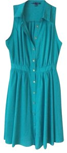Sweet Rain short dress Teal Collar on Tradesy