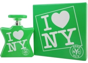 Bond No. 9 I Love New York Earth Day Unisex Womens Mens Perfume Cologne 3.3 oz 100 ml Eau De Parfum Spray Green Bottle