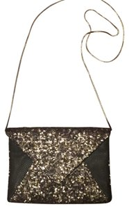 deux lux Sequin Purse Clutch Cross Body Bag