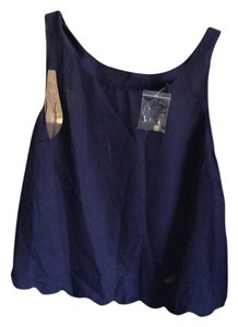 Mystique Boutique Top Navy blue