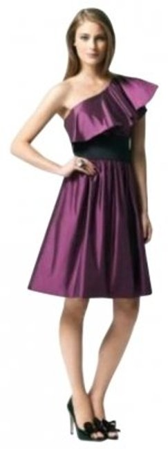 Item - Purple 2838 Mid-length Cocktail Dress Size 10 (M)