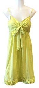 Rebecca Taylor short dress Lime green on Tradesy