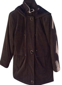 Fleet Street Detachable Hood Inside Pocket Trench Coat