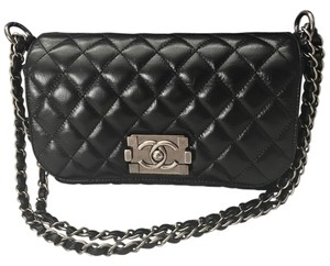 Chanel Boy Calfskin Shoulder Bag