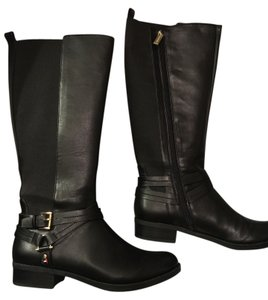 7b88c02e2068 Black Tommy Hilfiger Boots   Booties - Up to 90% off at Tradesy
