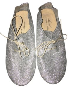 Anniel Limited Edition Metallic Silver Flats