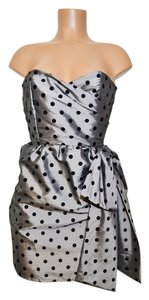 Judith March Strapless Polkadot Event Dress