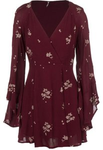 Free People Top Marsala