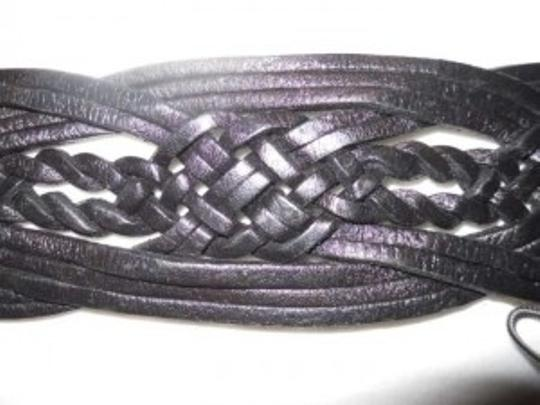 Chico's Chico's woven leather belt