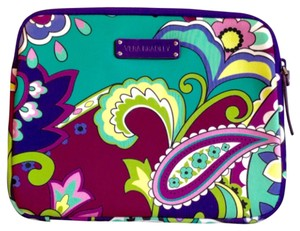 Vera Bradley Purple/teal Clutch