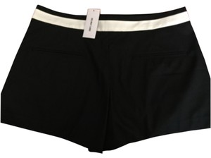 Helmut Lang Dress Shorts Black w white waist trim