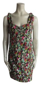 Nanette Lepore short dress multicolor floral on Tradesy
