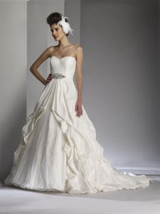 Liz Fields Lace Ball Gown Wedding Dress