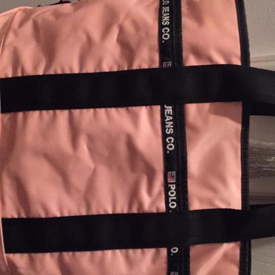 Polo Ralph Lauren Pink And Black Travel Bag