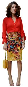 Tracy Reese Artsy Pencil Skirt