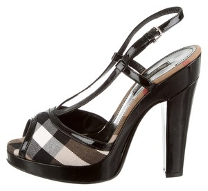 Burberry Nova Black Pumps