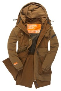 Super Dry Parka Military Military Jacket