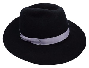 Eugenia Kim Eugenia Kim Women's Wool Felt Wide-Brim Fedora Black Hat