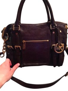 Michael Kors Fall Statement Hard To Find Satchel in Coffee