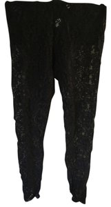 Sparkle & Fade Lace Black Leggings
