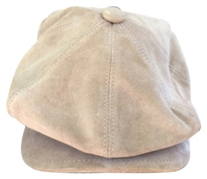 Burberry Burberry Leather News Boy Cap