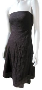 J.Crew short dress Brown Party Prom Garden on Tradesy