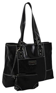 Franklin Covey Faux Leather Strappy Laptop Bag