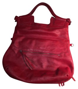 Foley + Corinna Satchel in red