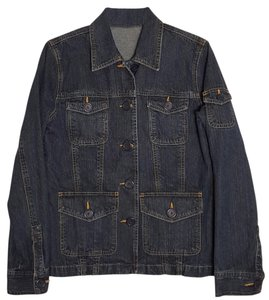 Liz Claiborne blue Womens Jean Jacket