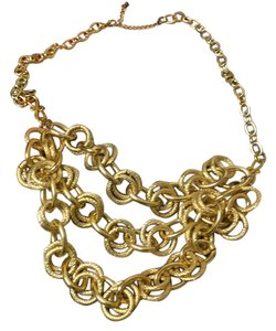 Gold Necklace Gold Link Necklace