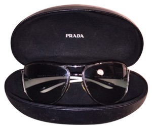 Prada Duo-tone Wide Arm Aviators