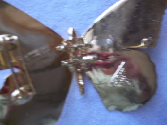 Stephen Ross Butterfly sculptured belt buckle