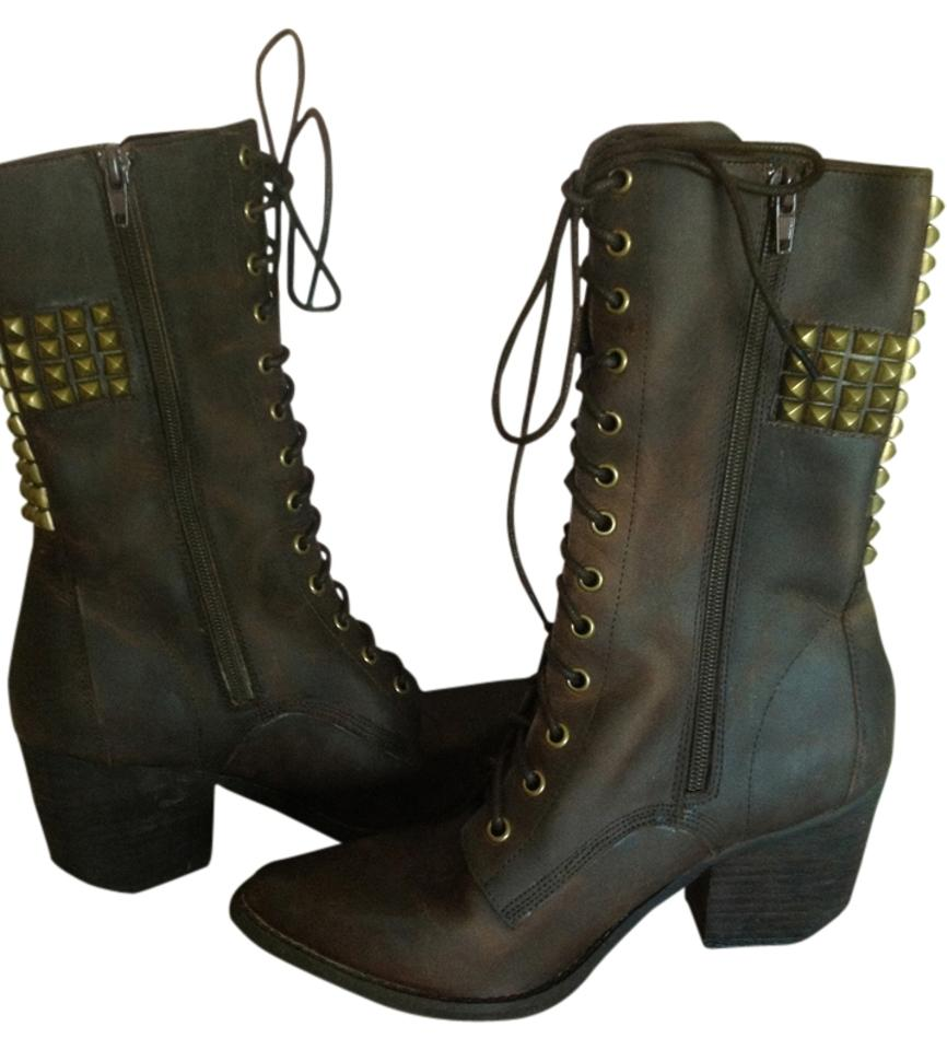 c501c564942 Jeffrey Campbell Brown Holy Roller Boots/Booties Size US 8 Regular (M, B)  46% off retail