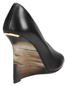 Burberry Black Wedges
