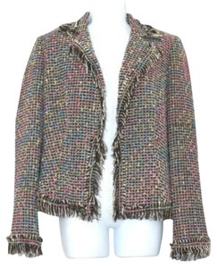 Cache Tweed Jacket Blazer