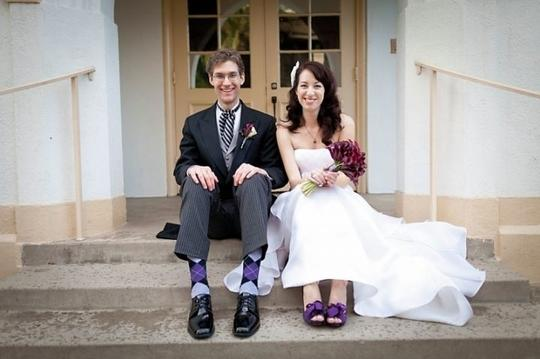 RSVP Cailyn In 9 Purple Pumps
