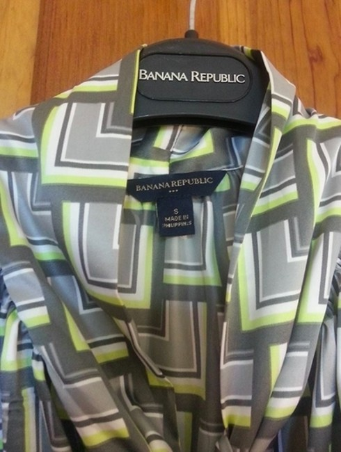 Banana Republic Top Geometric
