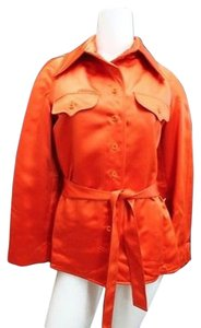 Other Satin Jacket ORANGE Blazer