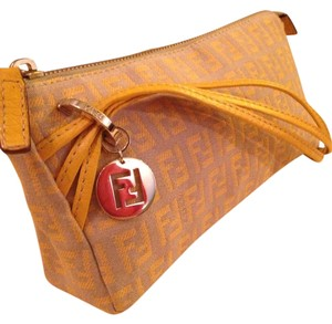 Fendi Wristlet in Yellow