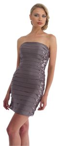 Morrell Maxie Cocktail Short Bandage Fitted Strapless Dress