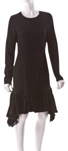 Altuzarra Lbd Peplum Trumpet Long Sleeve Little Dress