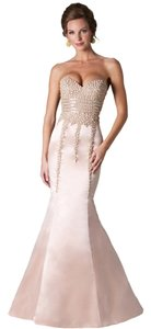 Janique Prom Strapless Trumpet Dress