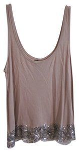 American Eagle Outfitters Top Blush with sequins