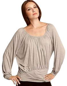 Joie Ruched Top Nude